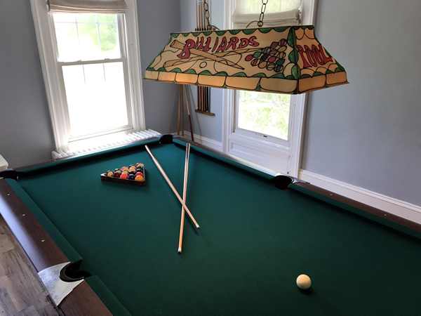 Pool Table Room