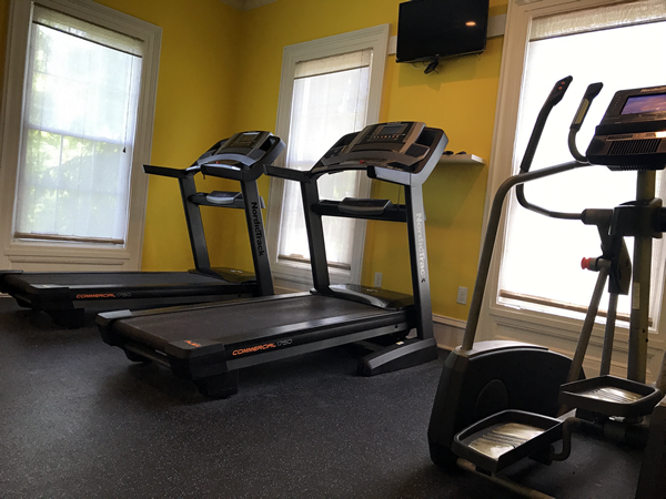 Treadmill in Fitness Center