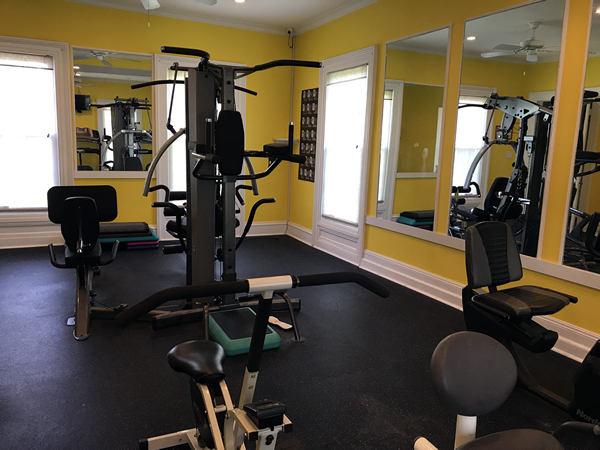 Weight in Fitness Center